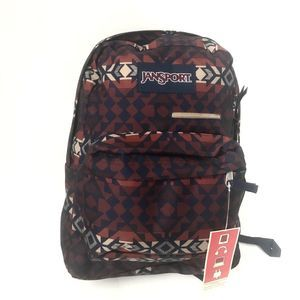 Jansport Digibreak Backpack Burnt Henna